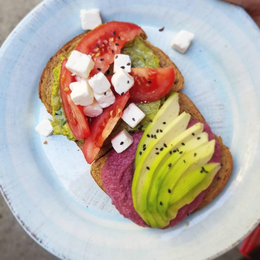 Sweetlab avocado toast torino